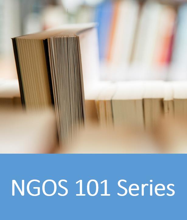 NGOs 101 Series